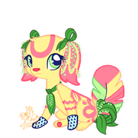 (Art Challenge) Spring Feathertail by CoffeeCupPup
