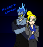 Hades x Future Karen by xSweetSlayerx
