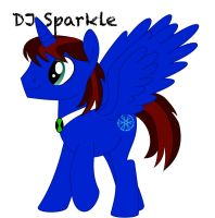 DJ Sparkle (LEVEL UP) by Equinox3141