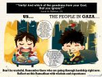 The People In GAZA by saurukent