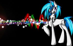 DJ Pon-3 Free Wallpaper by bloody--mascarade
