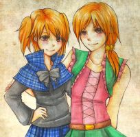 : Yenon Sisters : by F-AYN-T