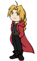 Edward Elric Chibi by SeekerOfDestiny
