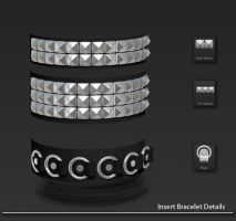 Zbrush: Insert (MultiMesh) Bracelet Download by Cryrid