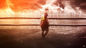 Lionel Messi (FC Barcelona) by AlbertGFX