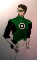 Green Lantern_Incomplete by Cathematics