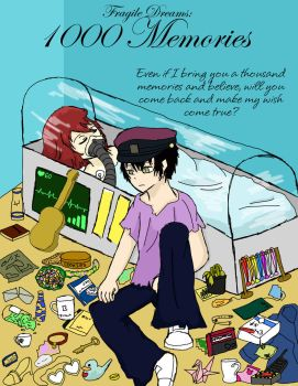1000 Memories Cover (Fragile Dreams Doujinshi) by pokemonlovinggirl