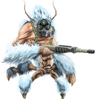 Yeti Crab un-edited PNG by SolidAlexei