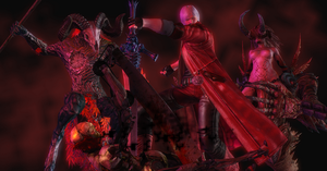 XPS: Devil May Cry - Devil hunter by Peonage