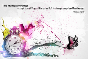 time changes everything by elicen