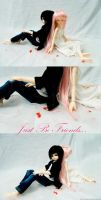 BJD cosplay: JBF 2 by Itchy-Hands