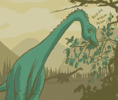 Diplodocus by lookhappy