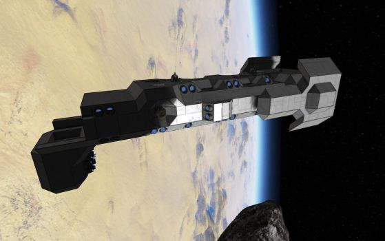 Space Engineers - Freighter Construction Pt.2 by Shroomworks