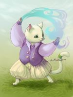 Petiole the magic cat by chutkat