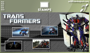 Stamps - 2007 - Transformers by od3f1