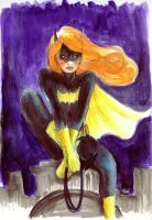 Batgirl by psychotic-cheshire