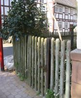 hessian village - small gate by mimustock