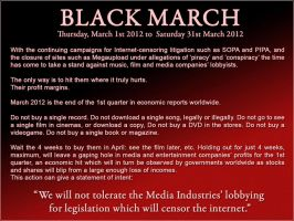 Black March by GothicShade