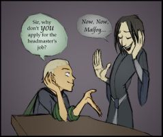 Now, Now, Malfoy. by felegund