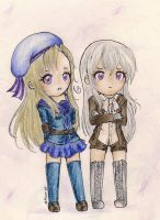 Prize-2: Fem!Norway and Fem!Iceland by Moon-68