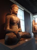 Indian Budda in Korean Museum by XLordAndyX