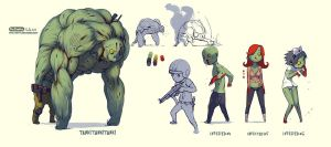 zombie concept2 by soft-h
