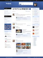 Redesign Facebook - 4 Sale by cyrax-pdm