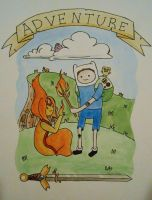 Adventure Time with Daniel by starbuxx