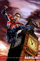 Captain Britain M.cornelius by JUANCAQUE