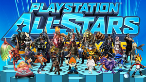 PlayStation All-Stars Battle Royale Wallpaper by NintendoFanDj