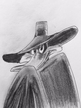 Darkwing Duck by CaptainEdwardTeague