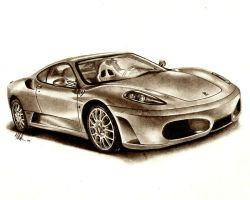 Ferrari F430 by tin23uk