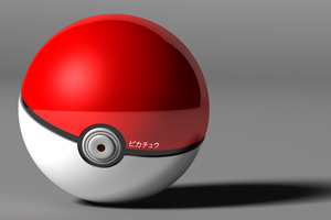 Pokeball - Realistic by foreverCTY