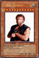 yu-gi-oh card chuck norris by IlookingYou