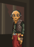 Star Wars - Maz Kanata by Juggernaut-Art