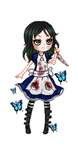 Alice Madness Returns Pixel by Mr-Creepy