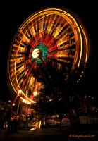 Night at the Fair III by kayaksailor