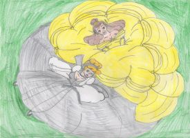 Fluffy Princesses by Aquateen510