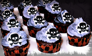 Halloween Cupcakes by lonelynightmares