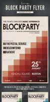 Block Party Flyer / Poster by frankschrijvers