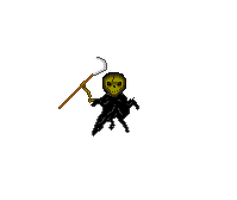 Death pixel art by Silverhammer37