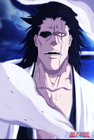 Bleach 572 - Zaraki Kenpachi by ZeTsu-c