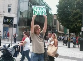 Free Hugs at Cardiff 02.08.11 by EpicOverload