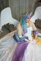 Princess Celestia - ECCC 2014 - 1 by Chochomaru