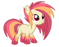 Adopted this pony! His name is Blaze Streak! by Daneon