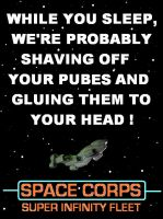 Red Dwarf - Space Corps poster [2 of 2] by DoctorWhoOne
