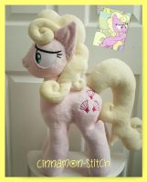 mlp plushie commission MILLIE by CINNAMON-STITCH