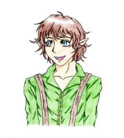 Frodo Baggins by ShinyUmbreon01