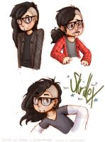 Color Job - Cute Little Skrillexes by Spectrumelf