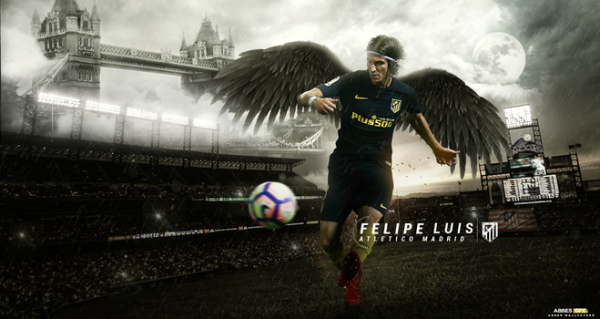 Felipe Luis Wallpaper 2016/17 by Abbes17